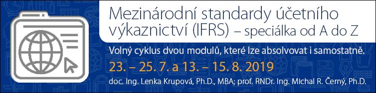 Mezinárodní standardy účetního výkaznictví (IFRS) – speciálka od A do Z